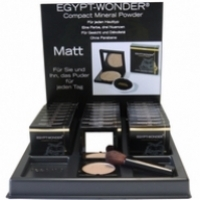 Compact Mineral Powder Matt Display