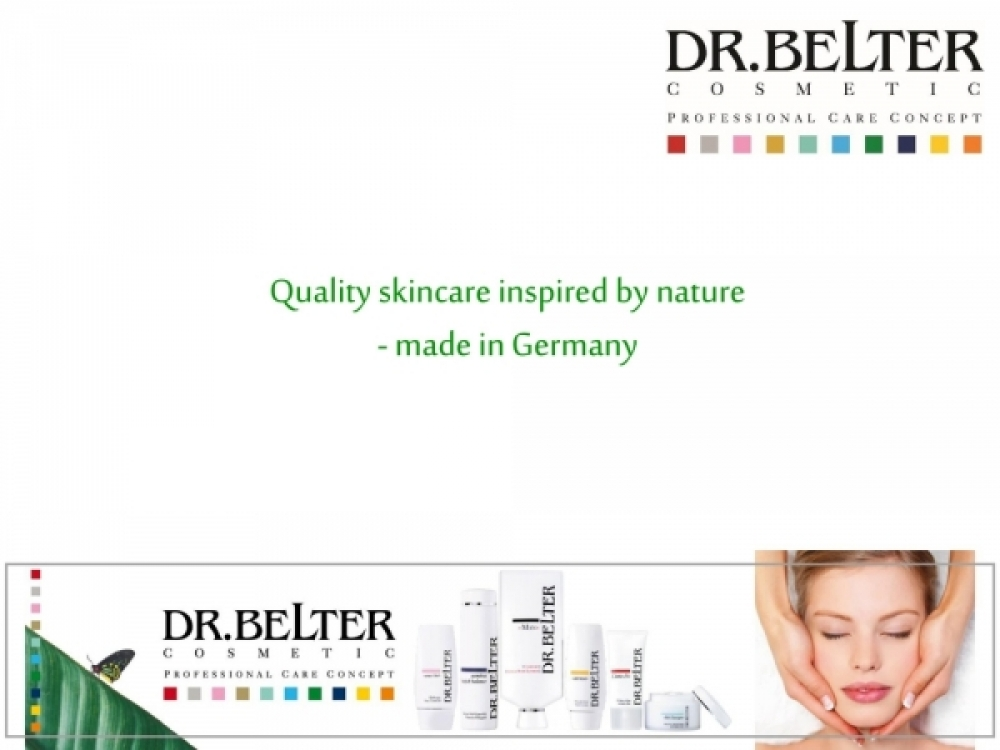 Dr. Belter Product Overview